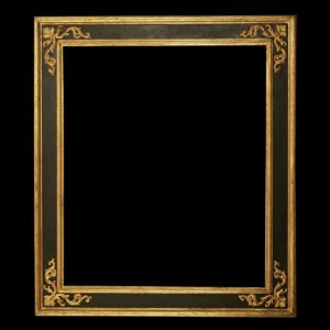 Black and Gold Picture Frames