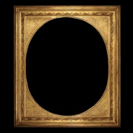 antique oval picture frames