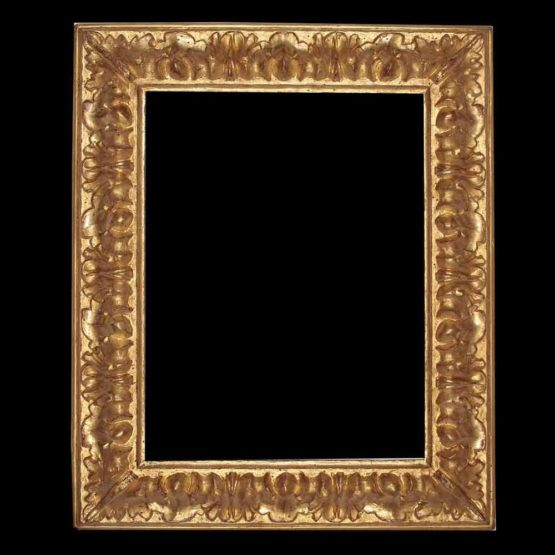 Baroque style picture frame