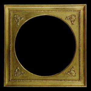 antique round picture frames