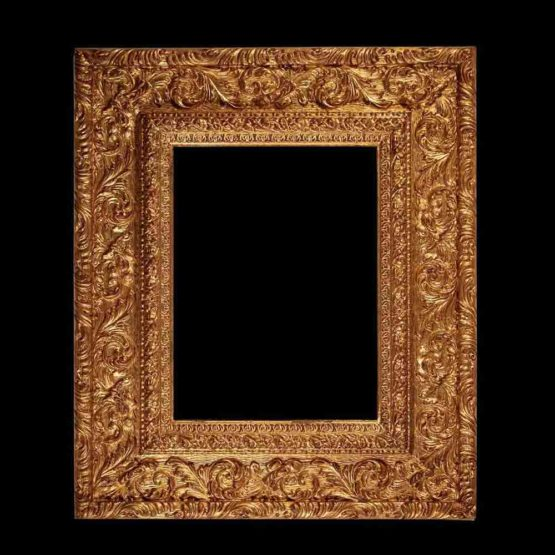 large baroque frame