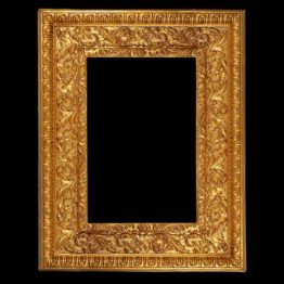 large gilt frame