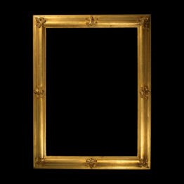 antique giltwood picture frame